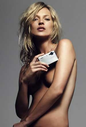 Kate Moss  posed naked for her boyfriend Kate Moss  posed naked for her boyfriend