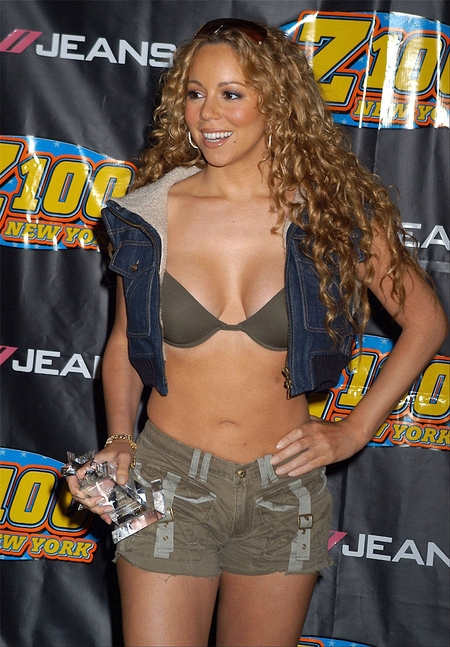 Mariah Carey had low self-esteem when she was growing up Mariah Carey had low self-esteem when she was growing up