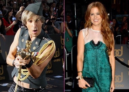 Sacha Baron Cohen and Isla Fisher Have Set Wedding Date Friday, June 26, 2009. Sacha Baron Cohen and Isla Fisher: