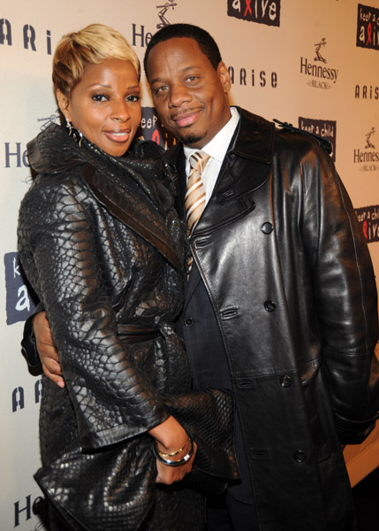 Mary J. Blige Punching Her Husband at New Album Release Party Mary J. Blige Punching Her Husband at New Album Release Party