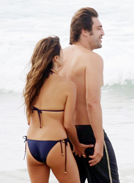 Penelope Cruz Frolicking With Javier Bardem During Brazilian Getaway Penelope Cruz Frolicking With Javier Bardem During Brazilian Getaway