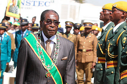 The President of Zimbabwe relied on the will of God