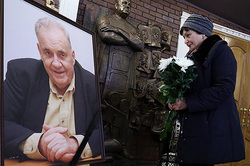 Date and place of farewell with Ryazanov