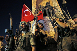 In Turkey freed hundreds of soldiers