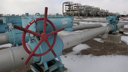 In the Crimea, perhaps there was a diversion on a gas pipeline