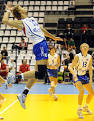 The Russian volleyball players beat Argentina and reached the final of the Universiade