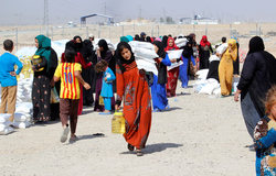 The number of refugees in Mosul for the week increased by almost 20 thousand people
