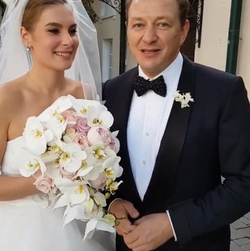 Marat Basharov third time he led her down the aisle