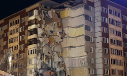 Six people were killed when a gas explosion in Izhevsk.