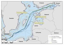 "2 Nord Stream has applied for an alternative route ""Nord stream - 2"""