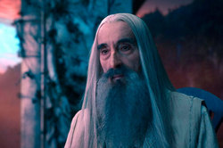Died Saruman from Lord of the rings""