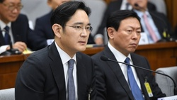 The heir to the Samsung Empire is a suspect in a corruption scandal