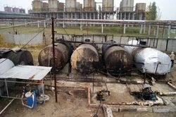 In Togliatti closed underground oil refinery