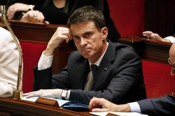 The French government put forward a vote of no confidence