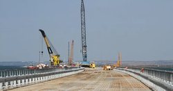 In Crimea, today launched the next great construction