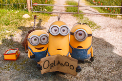 """Minions"" conquered the whole world"