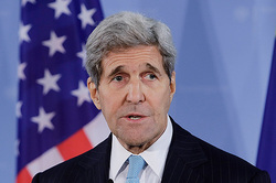 John Kerry spoke at the us Institute of peace in Washington