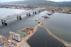 In the Krasnoyarsk region completed the construction of a new bridge