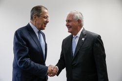 Rex Tillerson arrived in Moscow for talks
