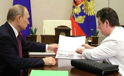 Putin complained to the Governor of the Vladimir region