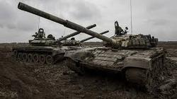 The Pentagon said the destruction of Syrian tanks