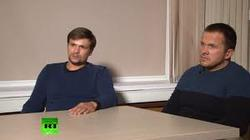 "The British foreign office commented on an interview the ""suspects"" in the case Skrobala"