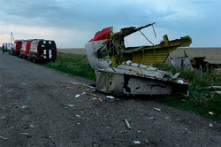 Ukraine accused in the crash Boeing