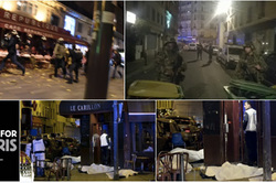 "A series of terrorist attacks in Paris gave the militants ""al-Qaeda"""