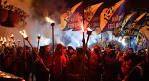 Thousands of nationalists in Kiev said March is the anniversary of the UPA