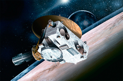 The New Horizons probe called home from Pluto