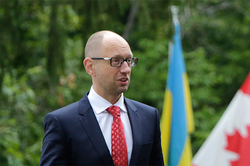 Yatsenyuk has linked the security of Canada with Ukraine