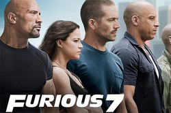 """Fast and furious 7"" broke the record for ""the Avengers"""