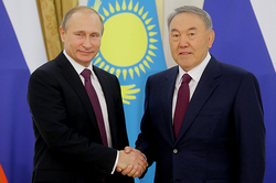 Putin and Nazarbayev have divided Caspian sea