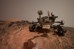 NASA has posted a new selfie of Curiosity Rover