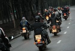 In Kazan in a clash with the police arrested 5 of motorcyclists