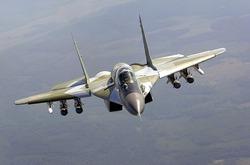 A Russian fighter jet crashed into the Mediterranean sea