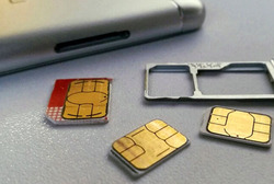 Soon, the sim card may replace a passport.