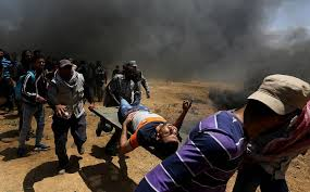 The death toll in Gaza Palestinians increased to 59