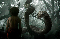"Johansson became the Python Kaa in ""the jungle Book"" (video)"