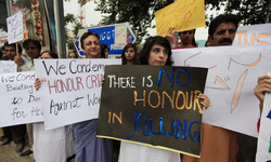 Wild the murder of a girl in Pakistan caused a public outcry