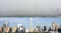 China tries to clear the sky of smog