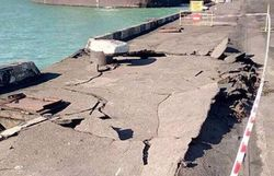 Sea port of Ukraine suffered tremendous damage from the ship with coal from USA