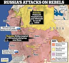 "Russia has accused the US of creating ""grey zones"" in Syria"