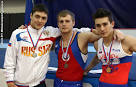 Belyavsky was second in the all-around at the European championship in artistic gymnastics