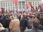 Activists in Odessa have not given to restore the memorial to those killed in the House of trade unions