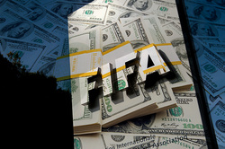 In the accounts of FIFA noticed strange activity