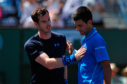 Murray for the first time in 2 years broke Djokovic
