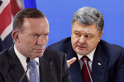 Poroshenko called Abbott to work