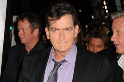 Charlie sheen admitted that he is HIV positive