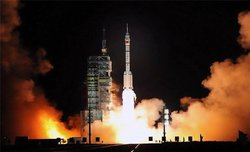 China sent a rocket into space for 30 days